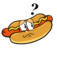 Thinking Hot Dog