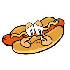 Sobbing Hot Dog