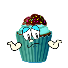 Troubled Cupcake