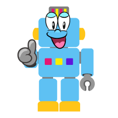 Thumbs up Robot