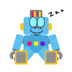 Sleeping Robot