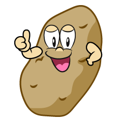 Thumbs up Potato