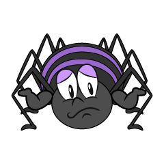 Troubled Spider