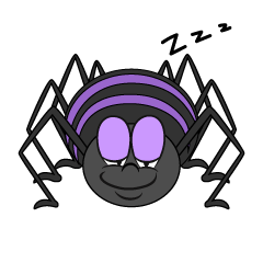 Sleeping Spider