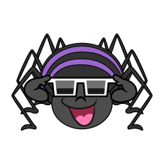 Spider with Sunglasses
