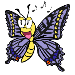Singing Butterfly