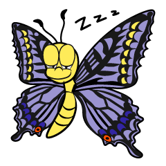 Sleeping Butterfly