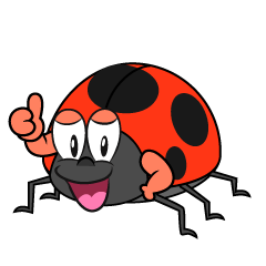 Thumbs up Ladybug