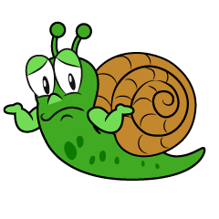 Troubled Snail