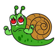 Burning Snail