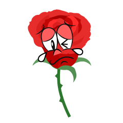 Crying Rose