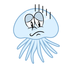 Depressed Jellyfish