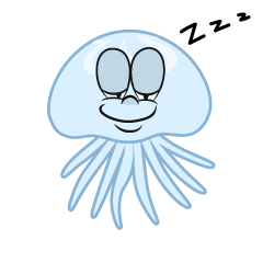 Sleeping Jellyfish