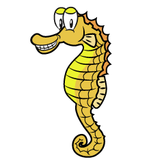 Grinning Seahorse