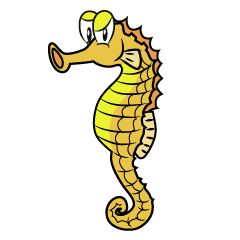 Angry Seahorse