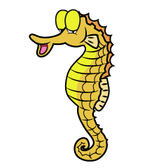 Relaxing Seahorse