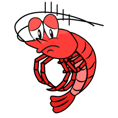 Depressed Shrimp