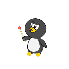 Speaking Penguin