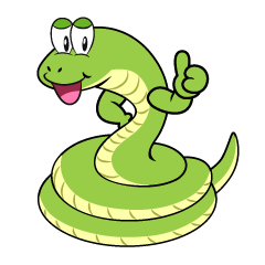 Thumbs up Snake