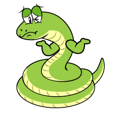 Troubled Snake