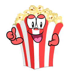 Thumbs up Popcorn