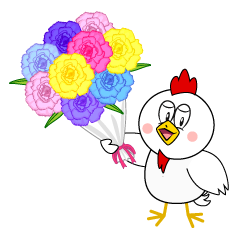 Chicken with Bouquet