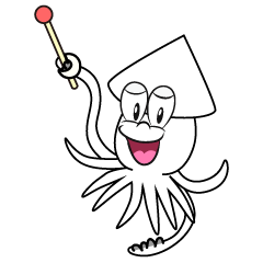Speaking Squid