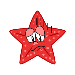 Depressed Starfish