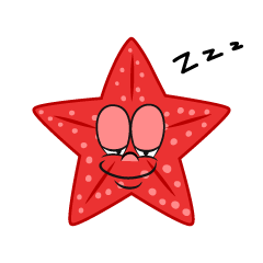 Sleeping Starfish