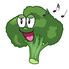 Singing Broccoli