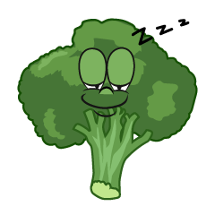 Sleeping Broccoli