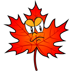 Angry Fall Leaves
