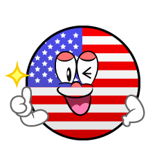 Thumbs up American Symbol