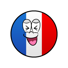 Laughing French Symbol