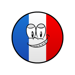 Grinning French Symbol