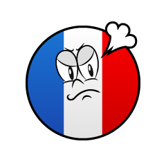 Angry French Symbol