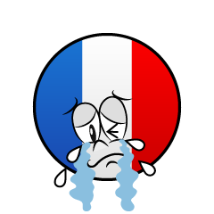 Crying French Symbol