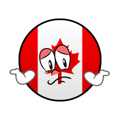 Troubled Canadian Symbol