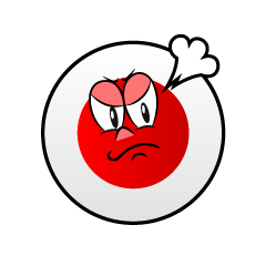 Angry Japanese Symbol