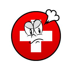 Angry Swiss Symbol