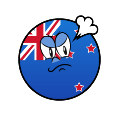 Angry New Zealand Symbol