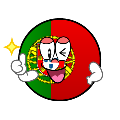 Thumbs up Portugal Symbol