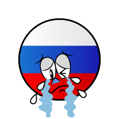 Crying Russian Symbol
