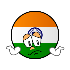 Troubled Indian Symbol