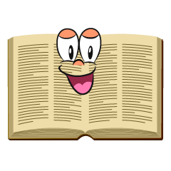 Smiling Open Book
