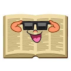 Cool Open Book