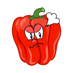 Angry Bell Pepper