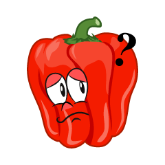 Thinking Bell Pepper