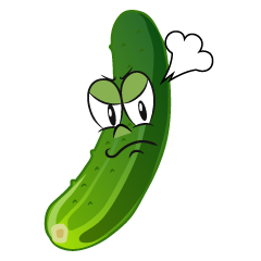 Angry Cucumber