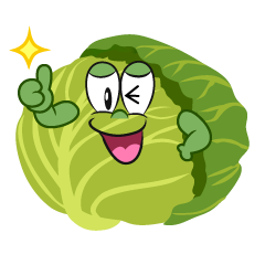 Thumbs up Cabbage